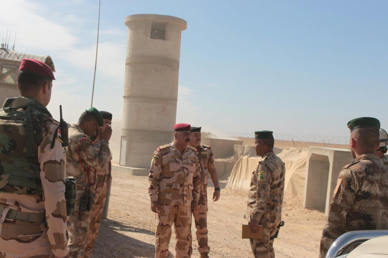 بالصور.. عمليات الجزيرة تمسك بيد من حديد الشريط الحدودي العراقي مع سوريا