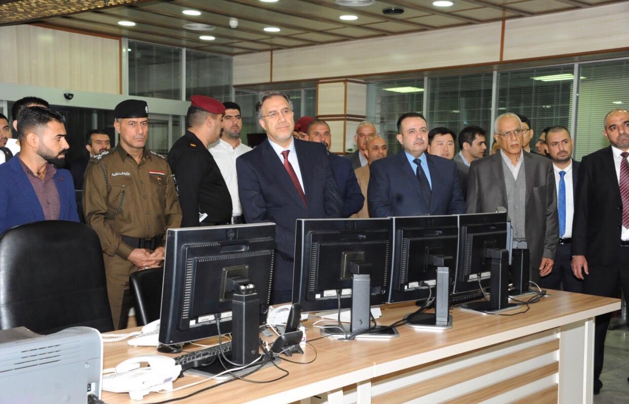 وزير الكهرباء لؤي الخطيب يزور مركز السيطرة الوطني