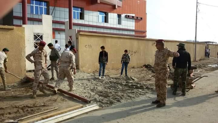 عمليات الأنبار تساهم بتأهيل المدارس التي دمرها داعش في المحافظة