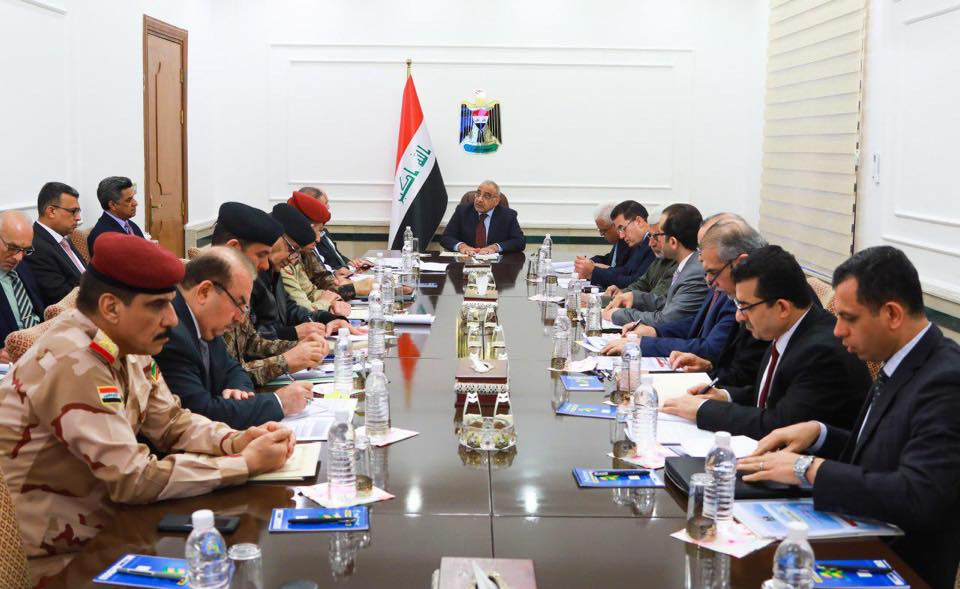 مجلس الأمن الوطني يعقد اجتماعه الاسبوعي برئاسة عادل عبدالمهدي