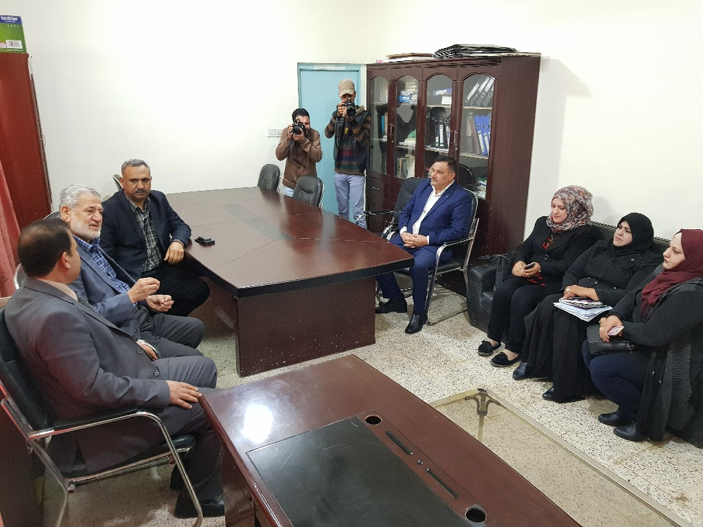 الجمعية الخيرية الإسلامية تستقبل وفدا لمنظمة صقر للتنمية والإغاثة الإنسانية
