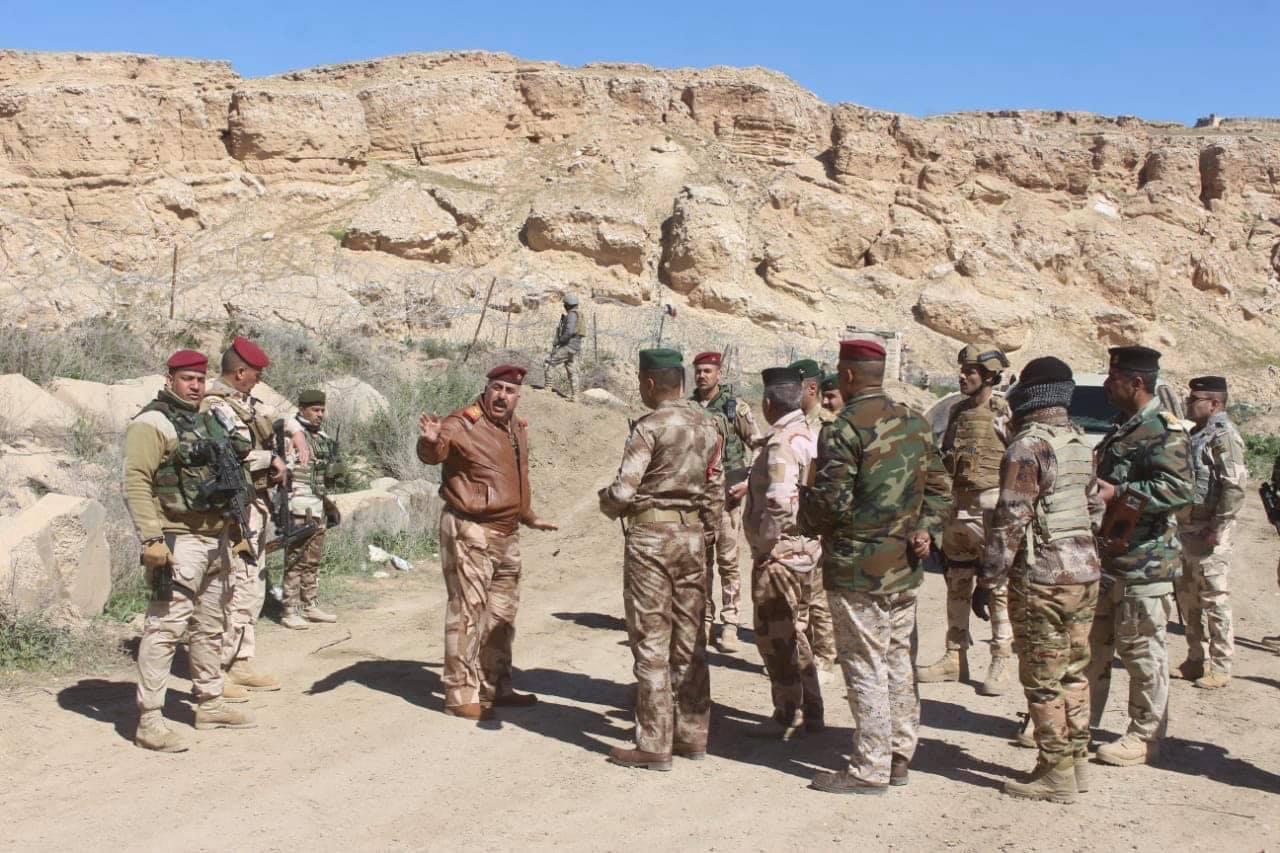 بالصور.. عمليات الجزيرة تمسك الحدود العراقية