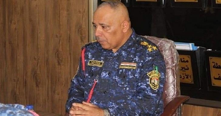 """إصابة قائد شرطة """"ذي قار"""" في مواجهات مع متظاهرين"""