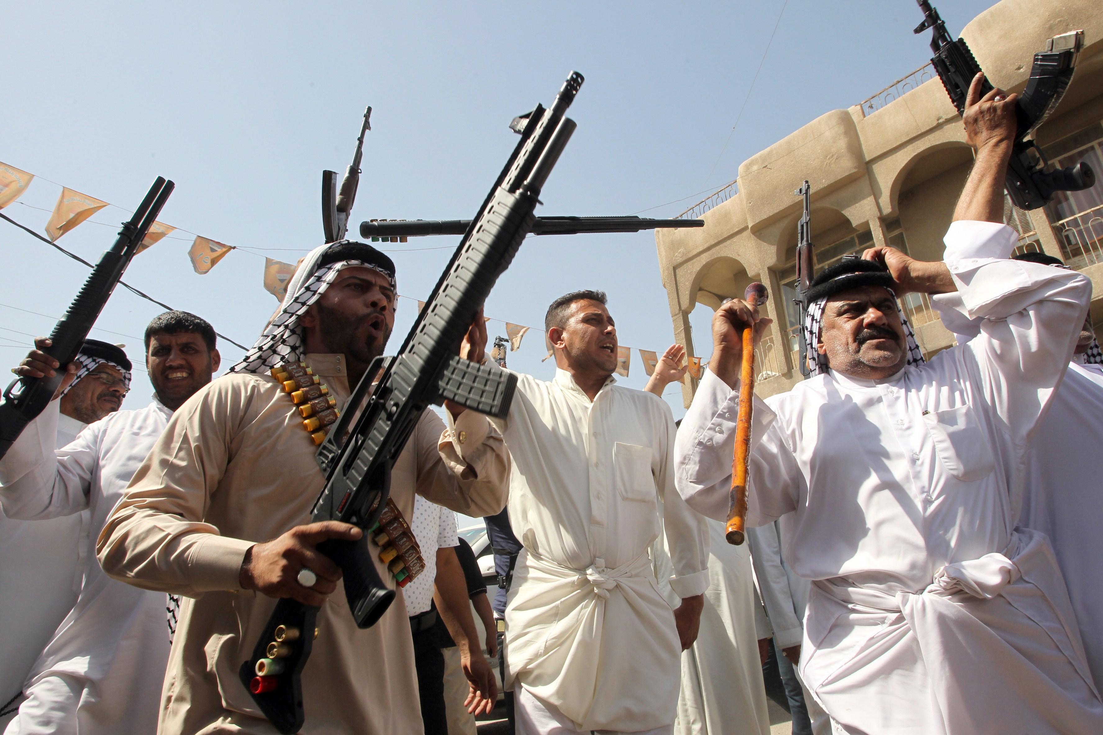 مقتل شخصين واصابة اربعة بنزاع عشائري في مدينة الصدر
