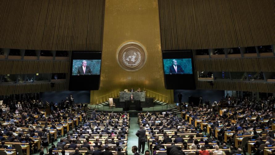 الأمم المتحدة تندد باستخدام العنف ضد المتظاهرين بالعراق
