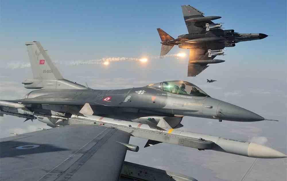 """الدفاع التركية: تقتل 6 اشخاص من منظمة """"بي كا كا"""" شمال العراق"""
