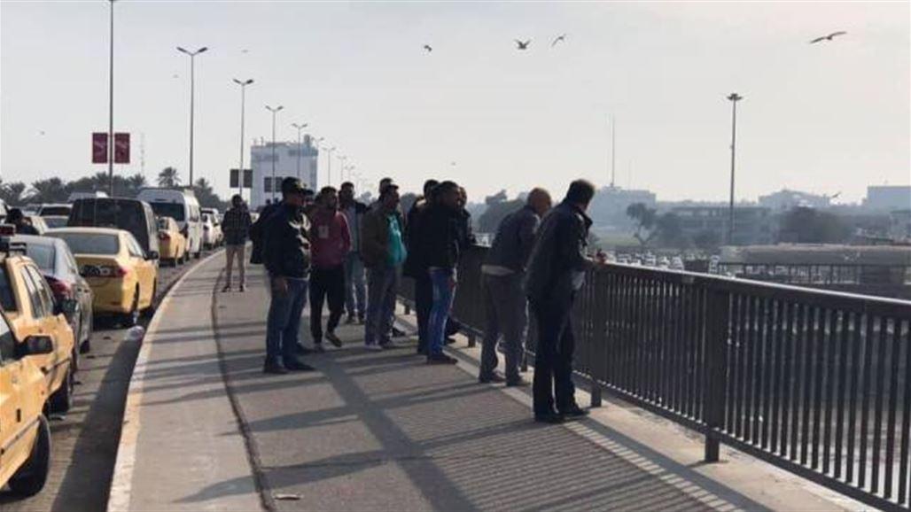 نجدة بغداد تنقذ امرأة حاولت الانتحار من اعلى جسر الجادرية