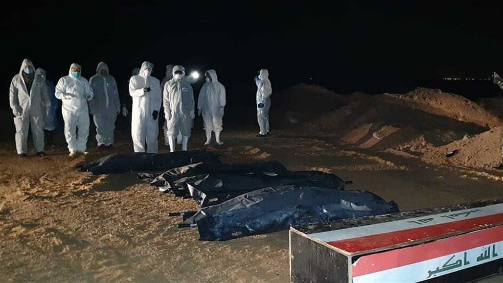 مدينة طب بغداد تعلن دفن جميع المتوفين بفيروس كورونا في النجف