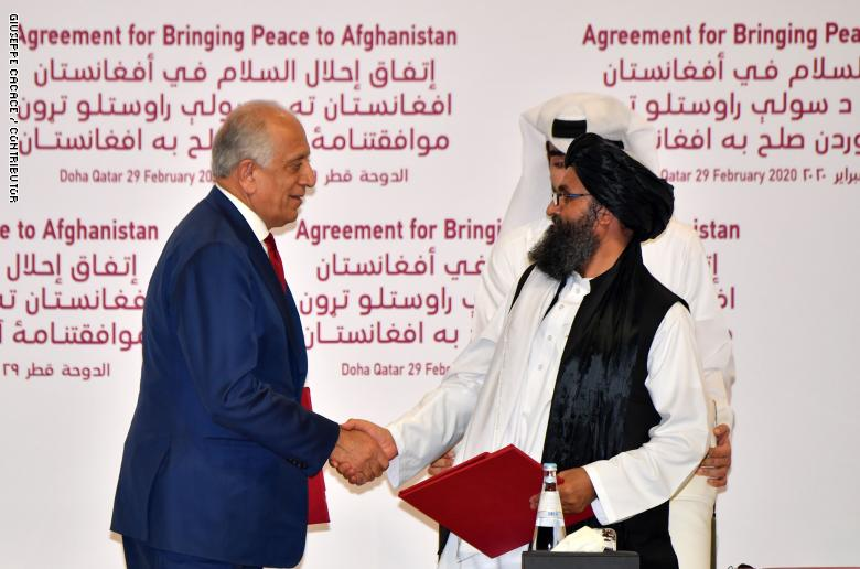 مبعوث السلام الأمريكي يدعو الأفغان لأخذ العبرة من الماضي