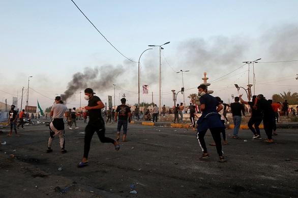 العراق.. إصابة 7 متظاهرين برصاص الأمن في ذي قار
