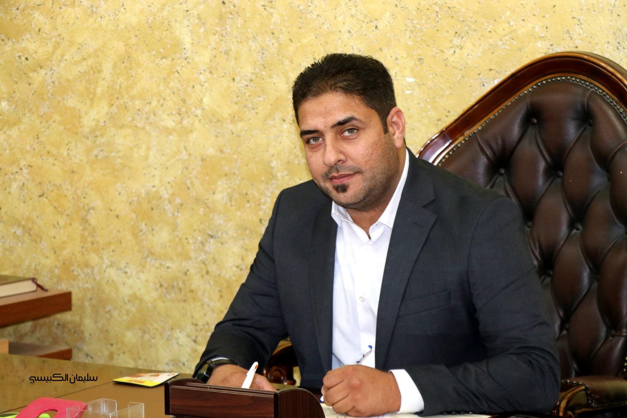 سليمان الكبيسي: منح البرلمان الثقة للكاظمي وحكومته بادرة خير للعراقيين