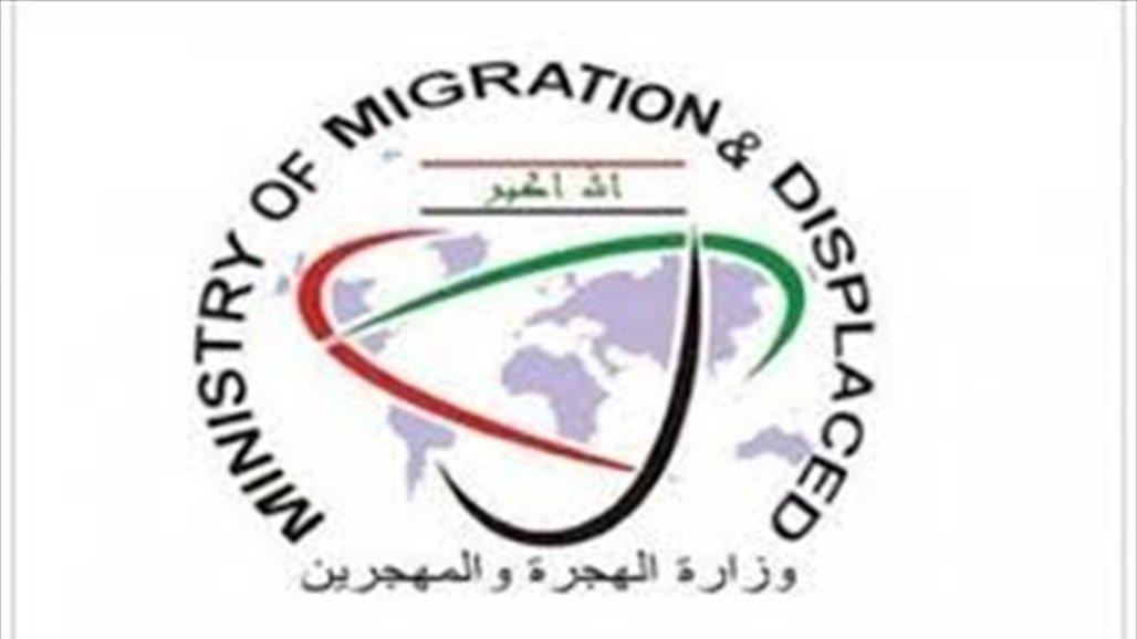 الهجرة تكشف أعداد النازحين حالياً داخل المخيمات في عموم العراق