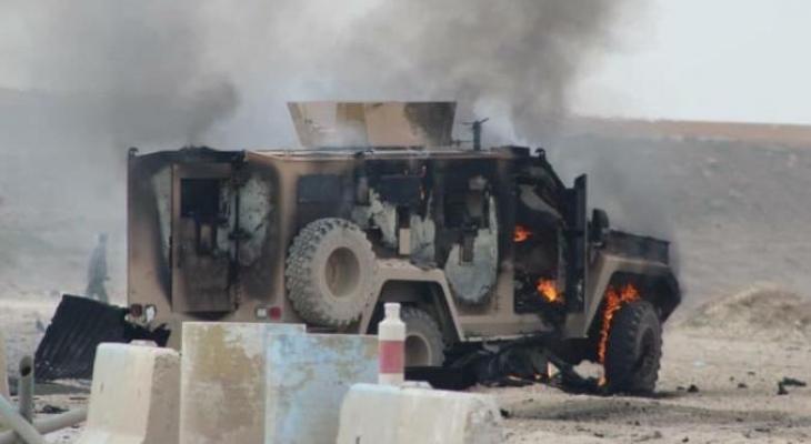 انفجار يستهدف رتلاً للتحالف الدولي شمالي بغداد
