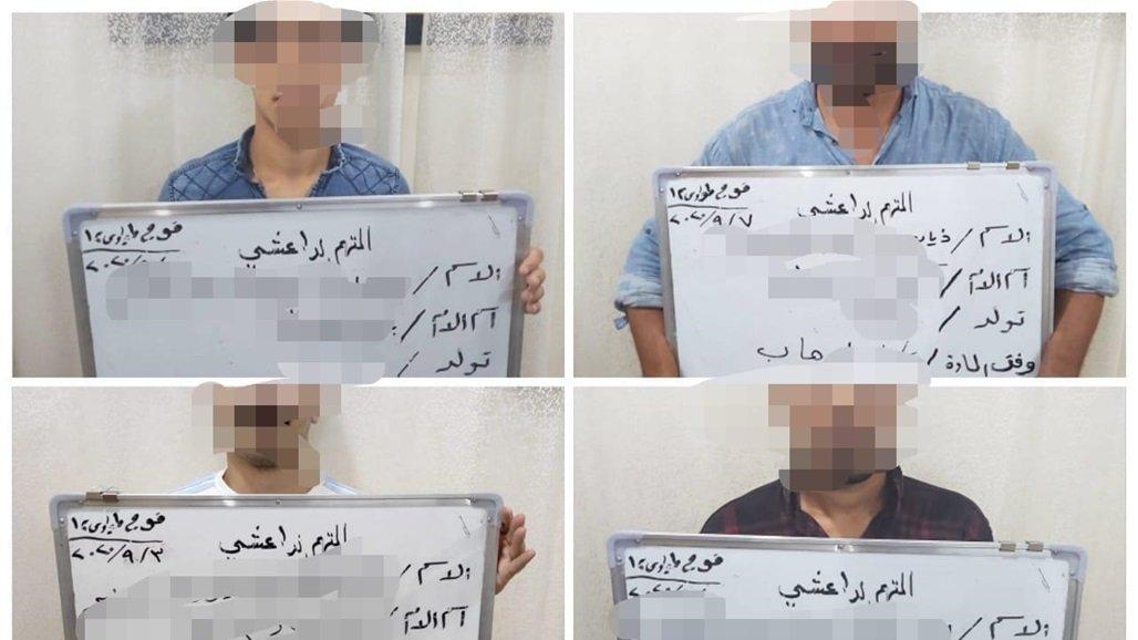 """القبض على ستة عناصر من """"داعش"""" بينهم """"انغماسي"""" في أيسر الموصل"""