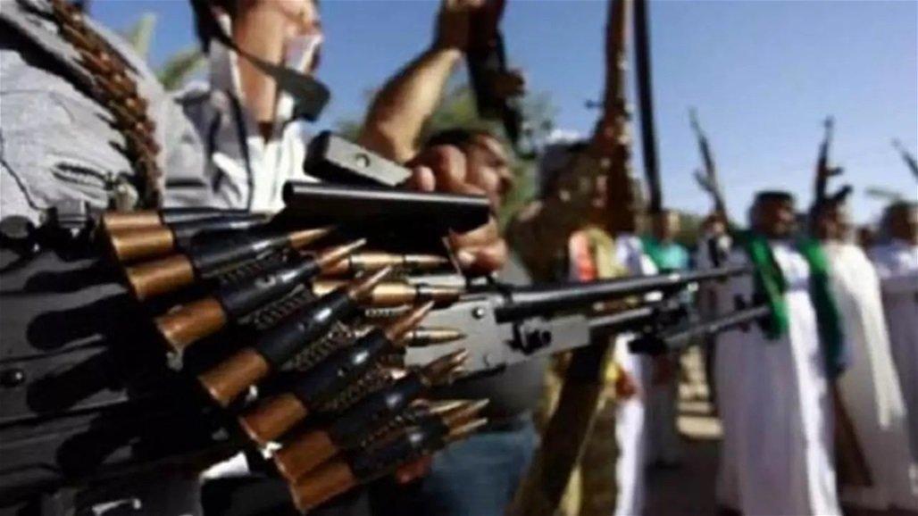 اعتقال اربعة متهمين يحملون سلاح لغرض القيام بالدكة العشائرية ببغداد