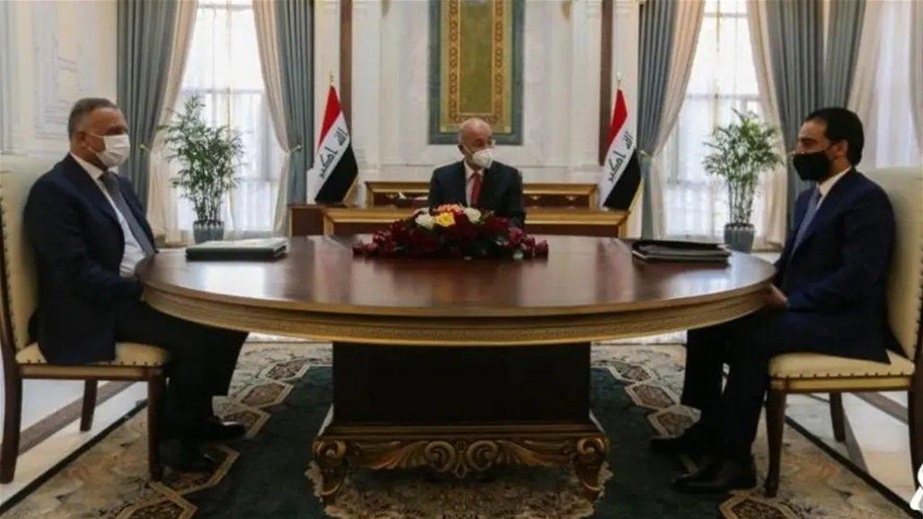 بيان اجتماع الرئاسات الثلاث ورئيس مجلس القضاء الأعلى ومعظم قادة الكتل السياسية