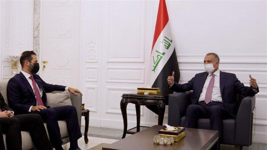 الكاظمي يؤكد لوفد كردي ضرورة التنسيق التام بين بغداد واربيل بمختلف المجالات