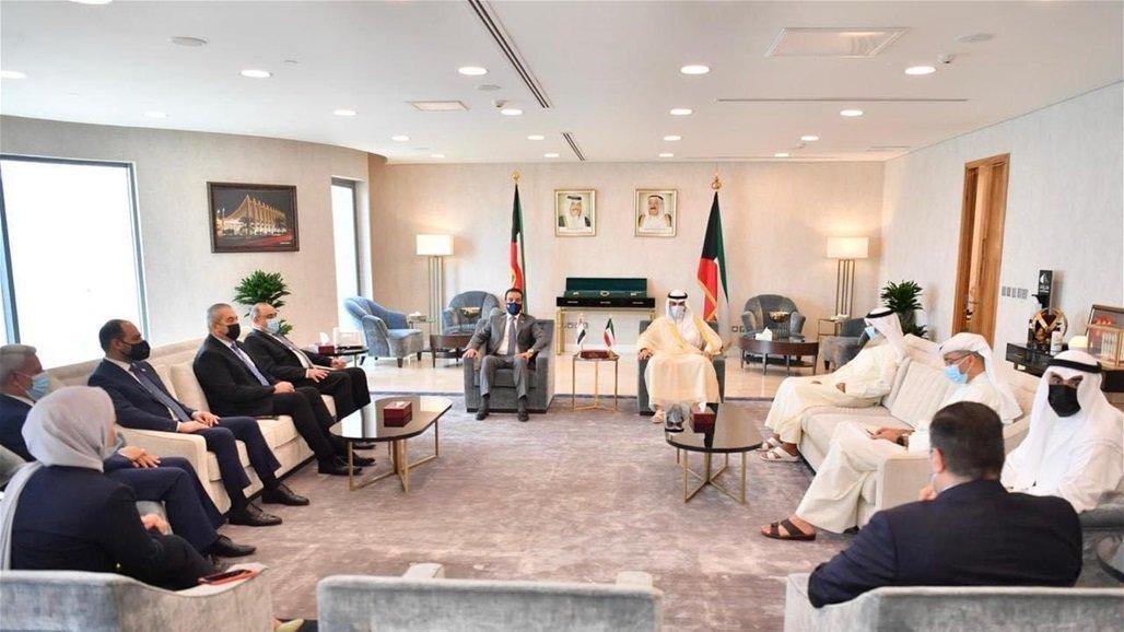 الحلبوسي ونظيره الكويتي يبحثان تفعيل لجان الصداقة البرلمانية