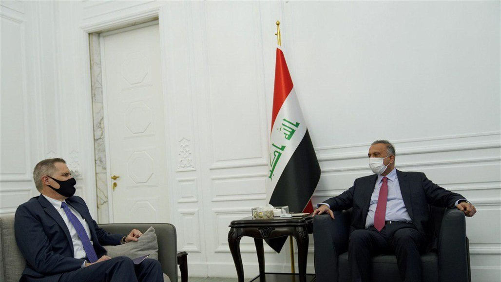 الكاظمي يبحث مع مسؤولين أميركيين تنفيذ مخرجات الحوار الاستراتيجي بين بغداد وواشنطن