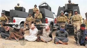 """القبض على ثمانية """"دواعش"""" في نينوى"""