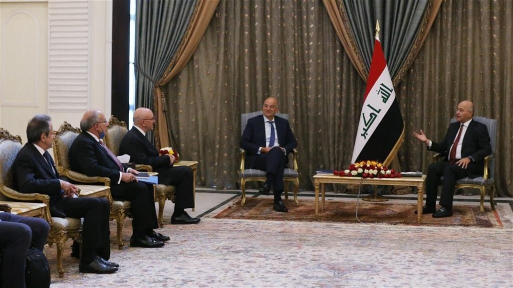 تنسيق عراقي يوناني لتعزيز التعاون الامني والاقتصادي
