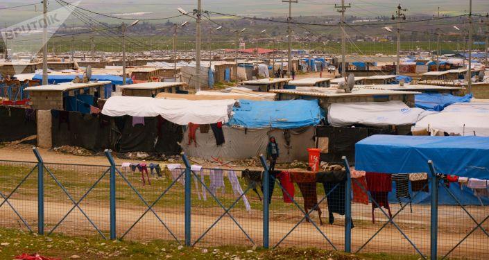 انتحار امرأة ايزيدية شنقاً داخل مخيم في دهوك