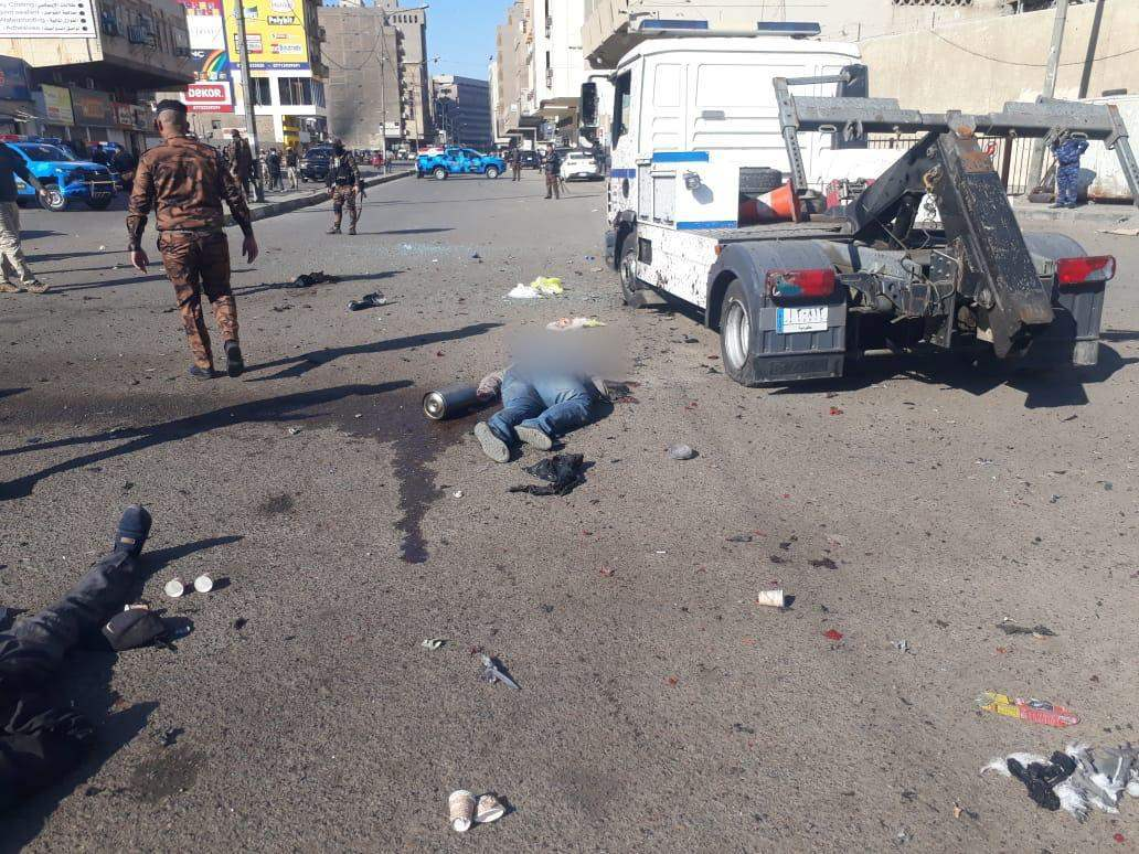 مصدر أمني: ارتفاع حصيلة الانفجار الانتحاري الى 28 قتيلا و 73 جريحا