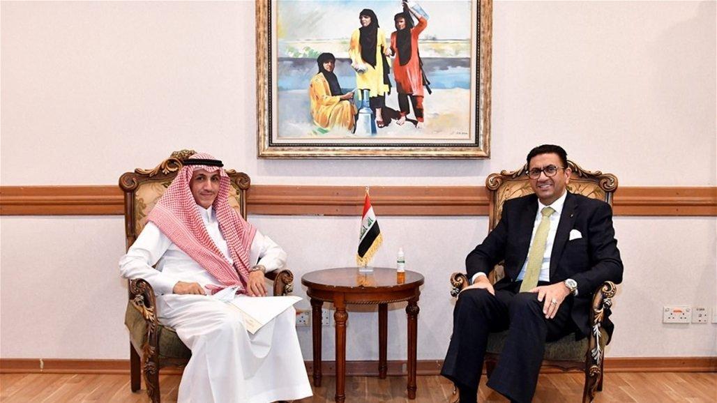 توسيع افاق التعاون بين العراق والسعودية